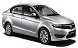 KK Car rental Kota Kinabalu - City Centre Standard car - Proton Preve