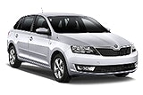 SIXT Car rental Sofia - Airport Compact car - Skoda Rapid Spaceback Automatic