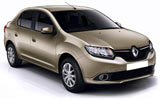 CIRCULAR Car rental Dalaman - Domestic Airport Compact car - Renault Symbol