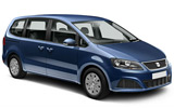 EUROPCAR Car rental Lisbon - Downtown Van car - Seat Alhambra