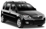 EUROPCAR Car rental Aarau Van car - Skoda Roomster
