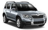 SURPRICE Car rental Tuzla - Airport Suv car - Skoda Yeti