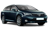 BUDGET Car rental Harstad/narvik - Airport Standard car - Toyota Avensis Estate