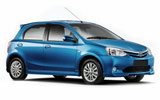 UNIDAS Car rental Niteroi - Central Compact car - Toyota Etios XS
