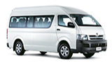 ISLAND Car rental Montego Bay - Sangster Intl. Airport Van car - Toyota Hiace