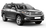 THRIFTY Car rental Calgary - Airport Suv car - Toyota Highlander