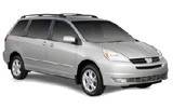 ENTERPRISE Car rental Baltimore - Airport Van car - Toyota Sienna