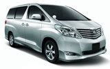 GREEN MATRIX Car rental Kota Kinabalu - City Centre Van car - Toyota Vellfire