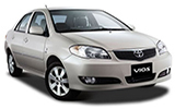 HAWK Car rental Penang - City Centre Compact car - Toyota Vios
