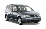 SIXT Car rental Kavala - Airport - Megas Alexandros Van car - Volkswagen Caddy