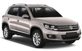 INTERRENT Car rental Tuzla - Airport Suv car - Volkswagen Tiguan
