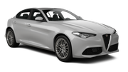HERTZ Car rental Casablanca - Airport Luxury car - Alfa Romeo Giulia