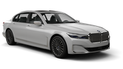 THRIFTY Car rental Abu Dhabi - Downtown Fullsize car - BMW 7 Series