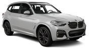 AVIS Car rental Durban - Airport - King Shaka Exotic car - BMW X3