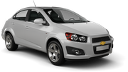 EZ Car rental San Juan - Sheraton Convention Center Economy car - Chevrolet Aveo