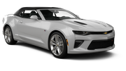 THRIFTY Car rental Kona Airport Convertible car - Chevrolet Camaro Convertible