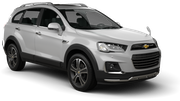 MEX Car rental Sofia - Airport - Terminal 2 Suv car - Chevrolet Captiva