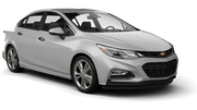 BUDGET Car rental Larnaca - Airport Standard car - Chevrolet Cruze
