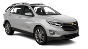 HERTZ Car rental Tampa - Airport Suv car - Chevrolet Equinox