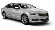 HERTZ Car rental Chatham Fullsize car - Chevrolet Impala