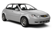 SISSY Car rental Budapest - Airport Compact car - Chevrolet Lacetti