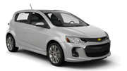 HERTZ Car rental Edmonton Compact car - Chevrolet Sonic