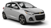 BUDGET Car rental Dubai - Marina Mini car - Chevrolet Spark