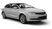 HERTZ Car rental Kona Airport Standard car - Chrysler 200