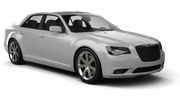 DOLLAR Car rental Kona Airport Luxury car - Chrysler 300