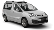 HERTZ Car rental Marrakech - Airport Van car - Citroen Berlingo