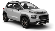 BUDGET Car rental Esch Alzette Downtown Suv car - Citroen C3 Aircross