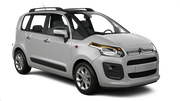 SIXT Car rental Graz - City Van car - Citroen C3 Picasso