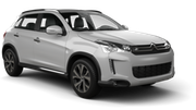 HERTZ Car rental Sortland Suv car - Citroen C4 Aircross