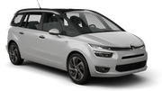 BUDGET Car rental Stoke-on-trent Van car - Citroen C4 Grand Picasso