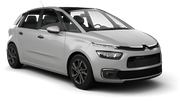 FLIZZR Car rental Copenhagen - International Airport - Kastrup Van car - Citroen C4 Picasso