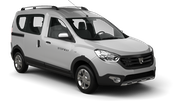 GREEN MOTION Car rental Tangier - Airport Van car - Dacia Dokker