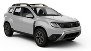 THRIFTY Car rental Dubai - Ras Al Khor Suv car - Dacia Duster