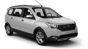 LOW COST CARS Car rental Sofia - Airport - Terminal 2 Van car - Dacia Lodgy