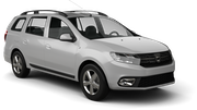 LOW COST CARS Car rental Bourgas - Airport Standard car - Dacia Logan MCV