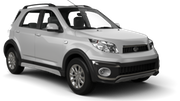 AVIS Car rental St. Lucia - La Toc Beach - Sandals Regency Suv car - Daihatsu Terios