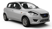 DOLLAR Car rental Durban - Airport - King Shaka Mini car - Datsun Go