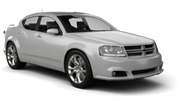 BUDGET Car rental Carle Place Standard car - Dodge Avenger