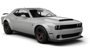 DOLLAR Car rental Dubai - Al Quoz Exotic car - Dodge Challenger