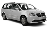HERTZ Car rental Kona Airport Van car - Dodge Grand Caravan