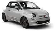 BUDGET Car rental Tangier - Airport Mini car - Fiat 500