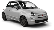 AVIS Car rental Sicily - Catania Airport - Fontanarossa Convertible car - Fiat 500 Convertible