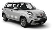 KEDDY BY EUROPCAR Car rental Perugia - Airport - St. Francis Of Assisi Compact car - Fiat 500L