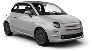 GOLDCAR Car rental Podgorica Airport Mini car - Fiat 500 ya da benzer araçlar