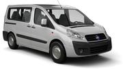 NOLEGGIARE Car rental Rome - Airport - Fiumicino Van car - Fiat Scudo