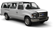 DOLLAR Car rental Kona Airport Van car - Ford E350